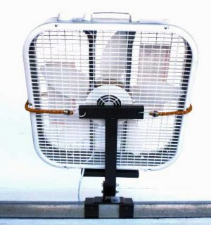 fan holder, fan mount, fan bracket