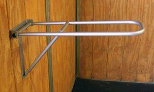 fold down saddle rack, Econo saddle rack, saddle rack