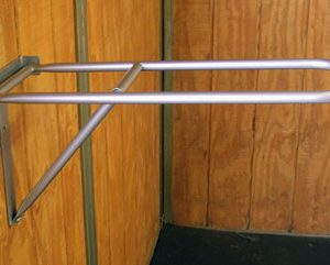 fold down saddle rack, Econo saddle rack, saddle rack