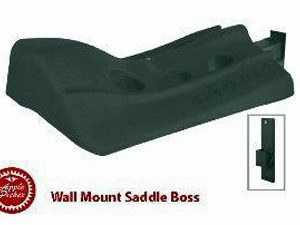 saddle holder, saddle rack, saddle boss