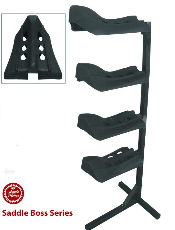 saddle boss, saddle holder, four tier saddle boss