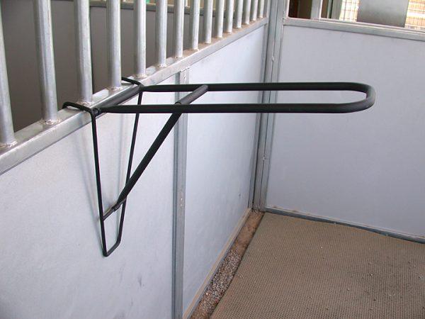 portable saddle rack, fold down saddle rack, easy store saddle rack